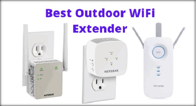 Best Outdoor WiFi Extender