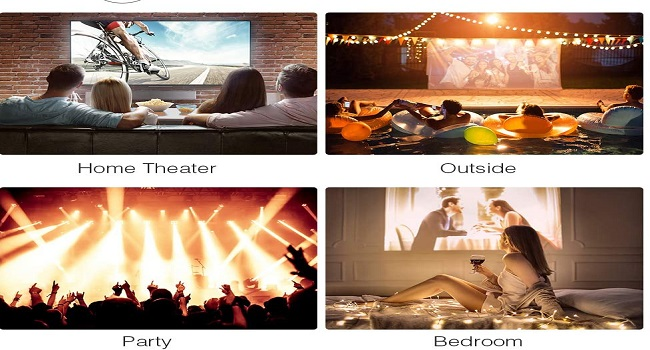 Projector under 100 - Multifunctional