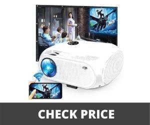 Mini Projector under 100 - DIWUER Mini Video Projector