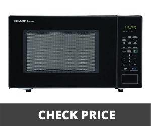 Best over the range microwave - SHARP Black Microwave